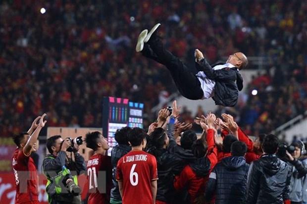 Football : Park Hang-seo est un heros, selon les medias sud-coreens hinh anh 1
