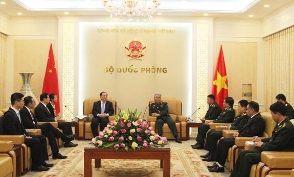 Vietnam et Chine renforcent la cooperation dans la gestion des portes frontalieres hinh anh 1