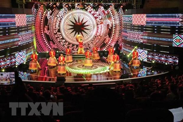 Ouverture du 38e Festival national de la Television a Lam Dong hinh anh 1