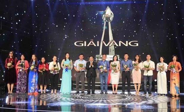 Prix d'or a 30 œuvres au 38e Festival national de la Television hinh anh 1