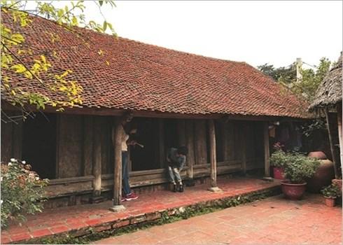 La plus ancienne maison de Duong Lam hinh anh 1