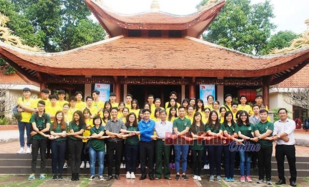 Programme d'echange international pour jeunes a Binh Phuoc hinh anh 1