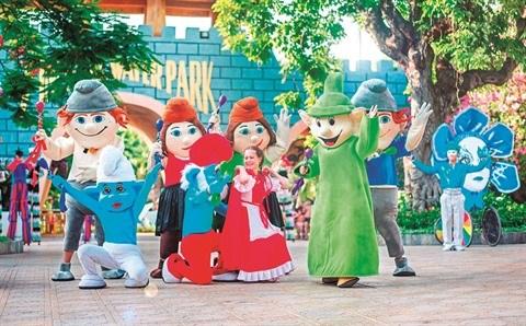 Festive Wonderland a Vinpearl Land hinh anh 1