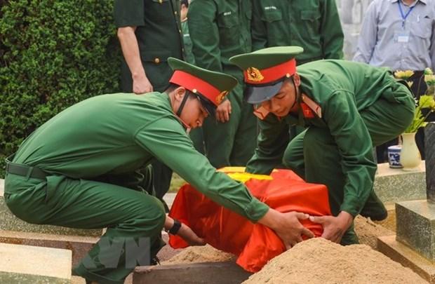 Une base de donnees nationale pour accelerer la recherche des restes des soldats hinh anh 1