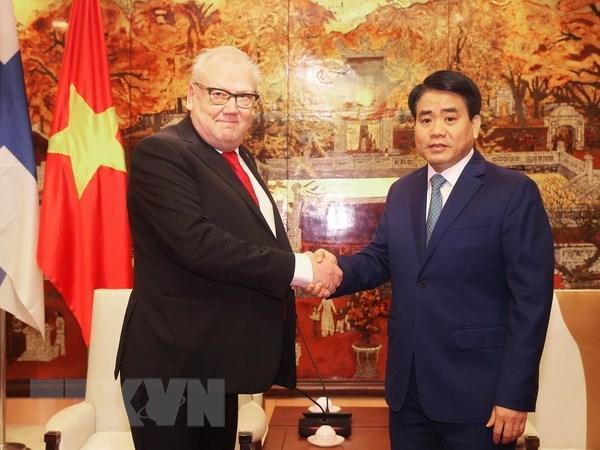 Promouvoir la cooperation entre Hanoi et les localites finlandaises hinh anh 2