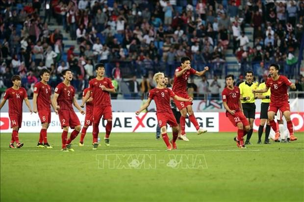 Asian Cup 2019 : le PM et les medias etrangers celebrent la victoire du Vietnam hinh anh 1