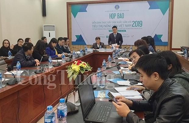 Le premier Forum sur la production et la consommation des produits agricoles hinh anh 1