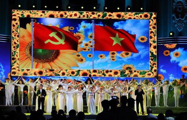Celebration du 89e anniversaire du PCV a Ho Chi Minh-Ville hinh anh 1