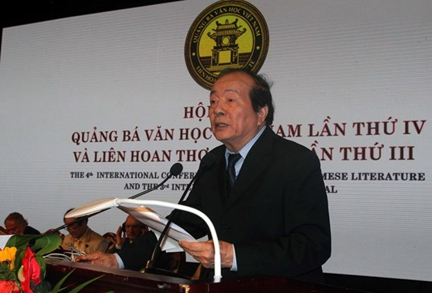 Conference internationale de promotion de la litterature et de la poesie vietnamiennes hinh anh 1