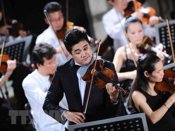 Le violoniste talentueux Bui Cong Duy debutera la saison des concerts en 2019 hinh anh 1