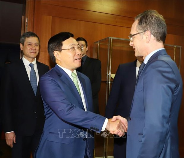Le Vietnam et l'Allemagne dynamisent la cooperation multiforme hinh anh 1