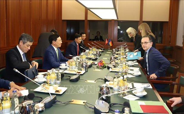 Le Vietnam et l'Allemagne dynamisent la cooperation multiforme hinh anh 2