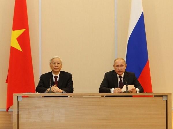 Approfondir le partenariat strategique integral Vietnam – Russie hinh anh 1