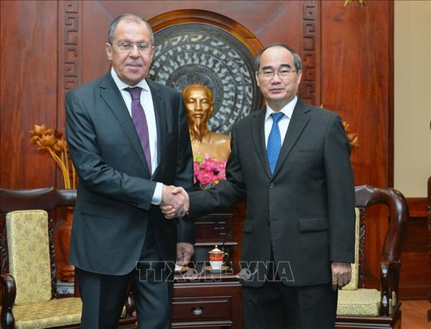 Booster la cooperation entre Ho Chi Minh-Ville et les localites russes hinh anh 1