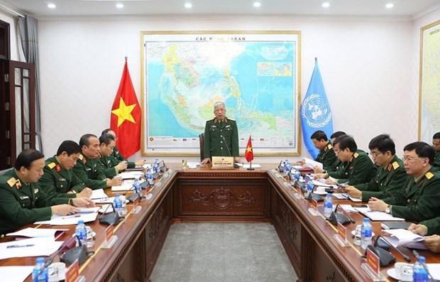 L'hopital de campagne de niveau 2 N°2 se prepare aux operations de maintien de la paix hinh anh 1