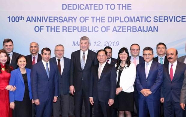 Le Vietnam et l'Azerbaidjan cherchent a renforcer la coordination dans la diplomatie hinh anh 1