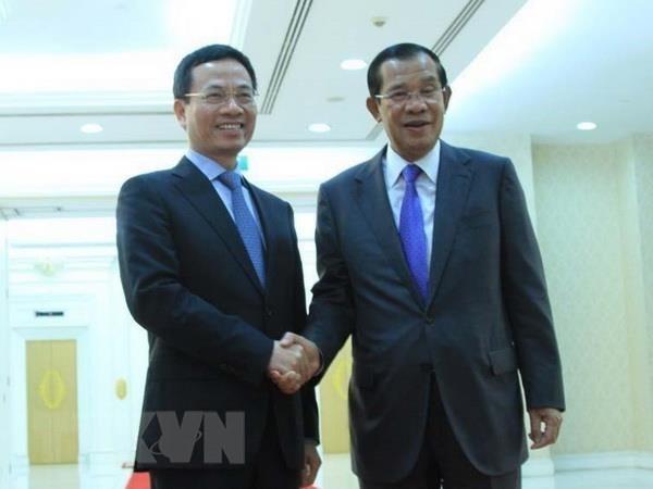 Le Cambodge veut recevoir l'aide du Vietnam pour construire un centre de la cybersecurite hinh anh 1