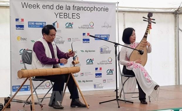 Francophonie : promotion de la culture vietnamienne a Yebles (France) hinh anh 1