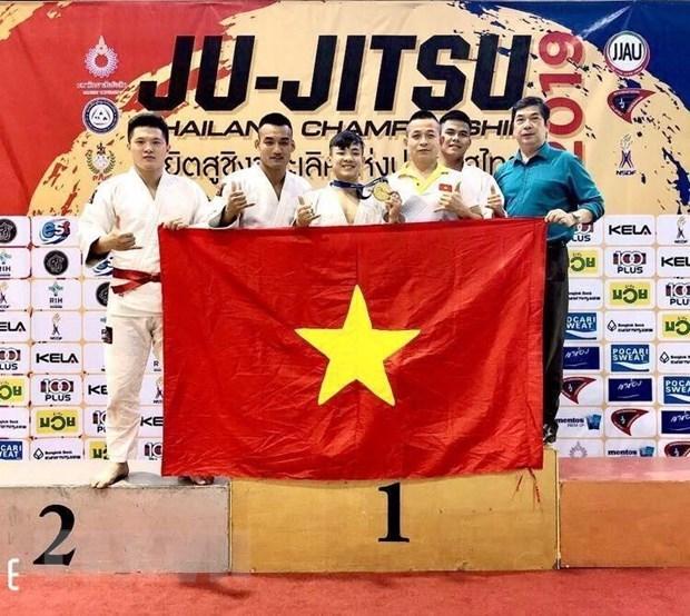 Le Vietnam remporte une medaille d'or en Jiu-Jitsu en Thailande hinh anh 1