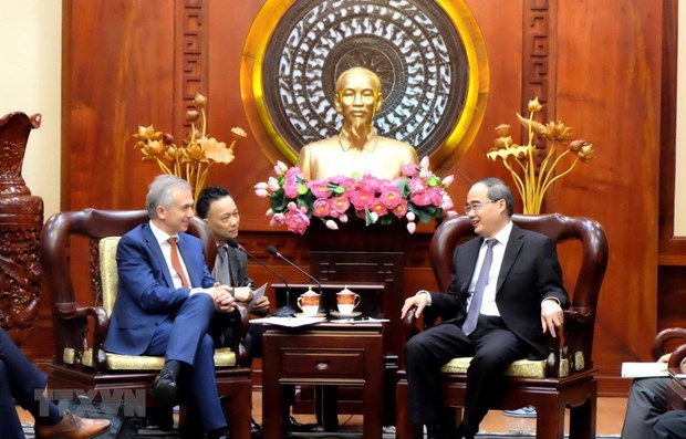 Ho Chi Minh-Ville et Francfort stimulent leur cooperation dans les technologies hinh anh 1