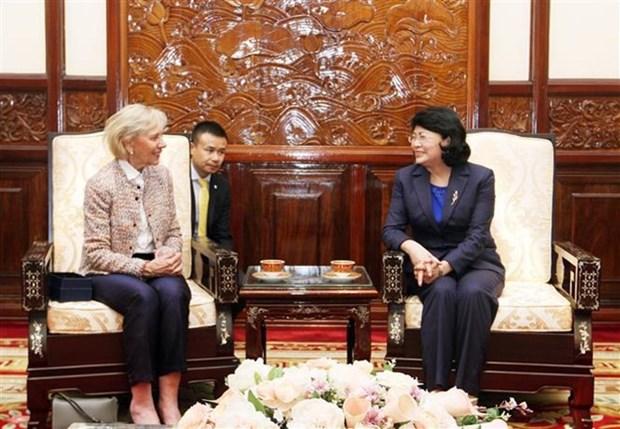 Le Vietnam apprecie le soutien de l'organisation Operation Smile pour les enfants handicapes hinh anh 1