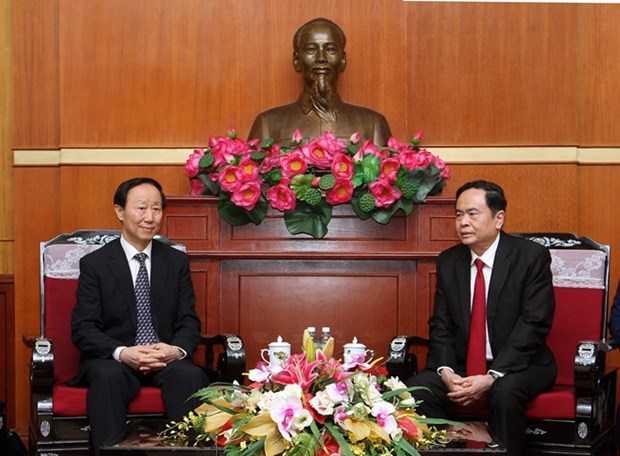 La fondation Soong Ching Ling contribue a consolider l'amitie Vietnam - Chine hinh anh 2