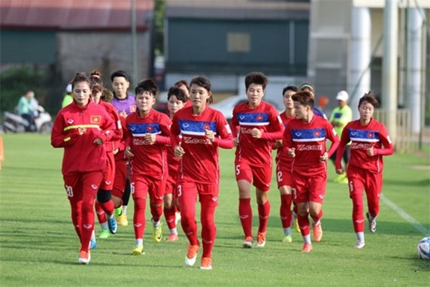 Football : les femmes vietnamiennes se rapprochent un peu plus des Jeux olympiques de Tokyo hinh anh 1