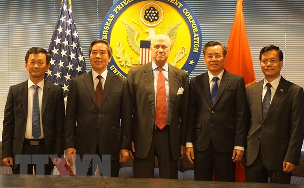 Une delegation du PCV en visite de travail aux Etats-Unis hinh anh 2