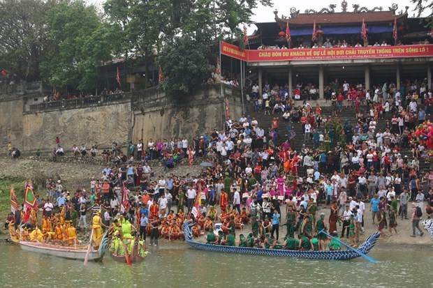 Diverses activites en l'honneur de la fete des rois fondateurs Hung hinh anh 2