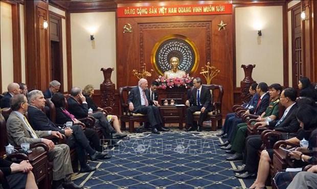Efforts visant a promouvoir les relations Vietnam - Etats-Unis hinh anh 1