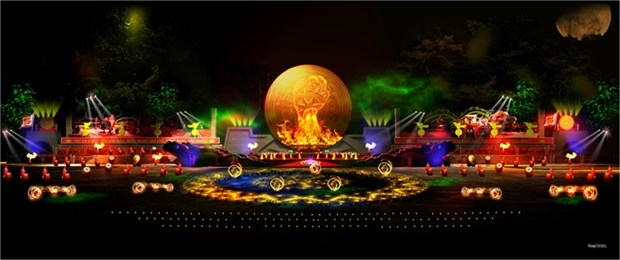 Plus de 500 artistes a la ceremonie de celebration du 990e anniversaire de Thanh Hoa hinh anh 1