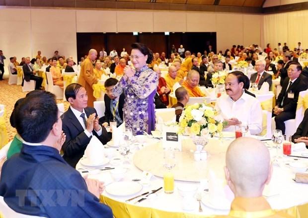 Banquet en l'honneur de la fete bouddhique du Vesak 2019 hinh anh 1