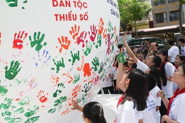 Lancement du Mois d'action pour les enfants 2019 hinh anh 2
