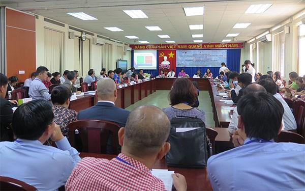 Colloque sur le developpement de la ville intelligente a Ho Chi Minh-Ville hinh anh 1