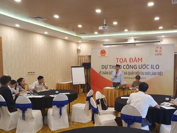 Le Vietnam participe aux negociations de la nouvelle Convention de l'OIT sur le harcelement sexuel hinh anh 1