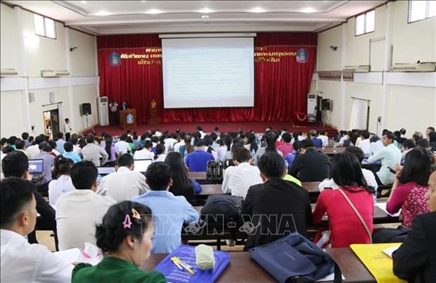 Le Vietnam et le Laos renforcent leur cooperation pour ameliorer la qualite de formation hinh anh 2