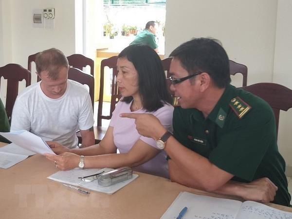 Un Russe recherche par Interpol arrete a Quang Tri hinh anh 1