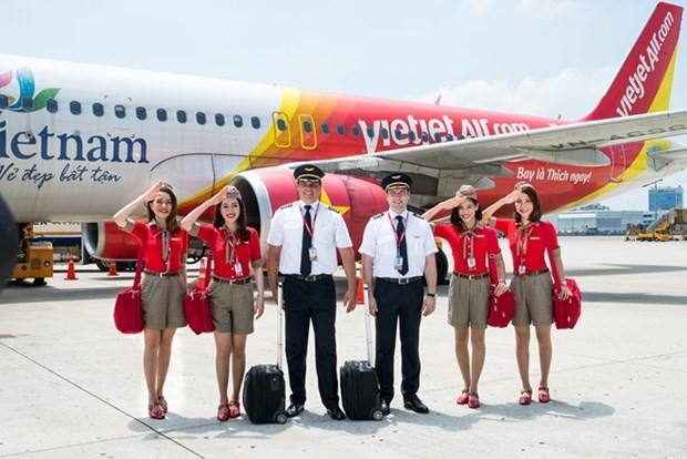 Vietjet offre une promotion speciale pour les lignes entre le Vietnam et le Japon hinh anh 1