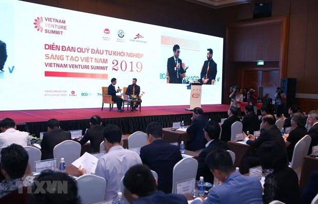Ouverture du Vietnam Venture Summit 2019 hinh anh 1