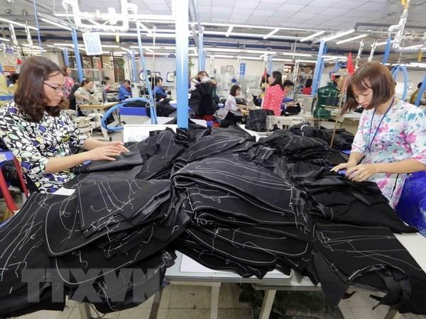 Exportations de textile-habillement en forte croissance en cinq premiers mois hinh anh 1