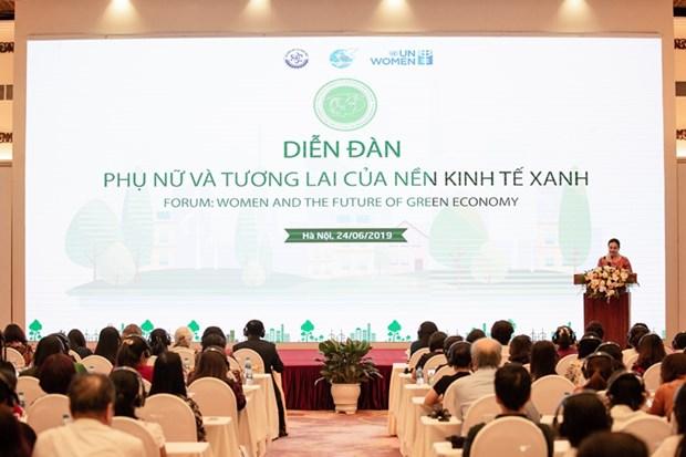 Reconnaissance du role des femmes dans le developpement de l'economie verte hinh anh 1