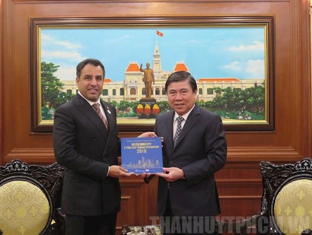 Ho Chi Minh-Ville et les EAU recelent de nombreux potentiels de cooperation hinh anh 1