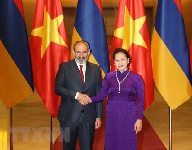 Le Vietnam et l'Armenie veulent promouvoir la cooperation economique hinh anh 1