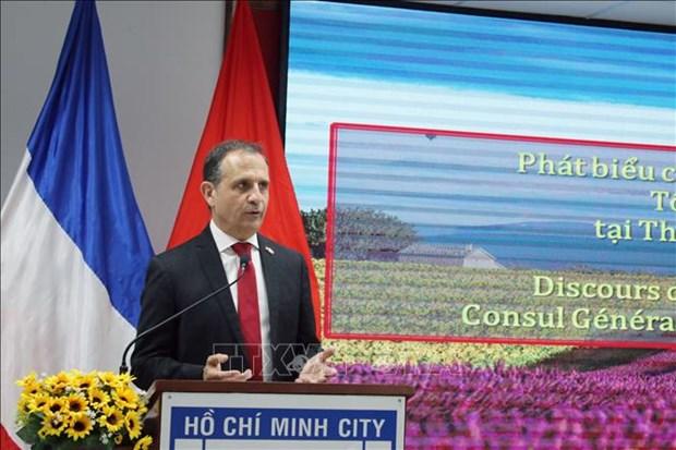 Le 230e anniversaire de la Fete nationale de la France celebre a Ho Chi Minh-Ville hinh anh 1