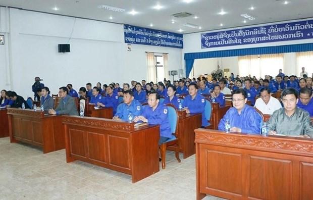 Des jeunes laotiens s'initient a l'ideologie du President Ho Chi Minh hinh anh 1