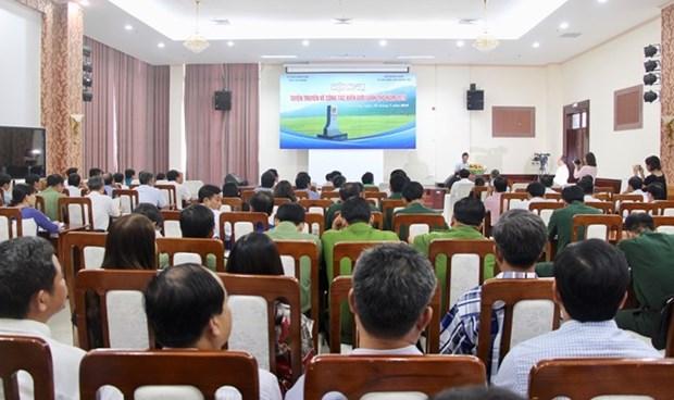 Le Vietnam et le Cambodge edifient une frontiere de paix et d'amitie hinh anh 1