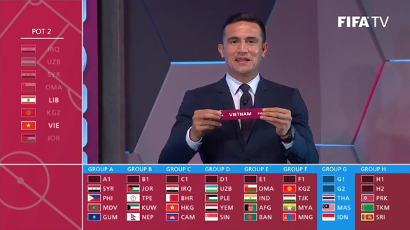 Coupe du monde 2022 : le Vietnam dans le meme groupe que trois pays d'Asie du Sud-Est hinh anh 1