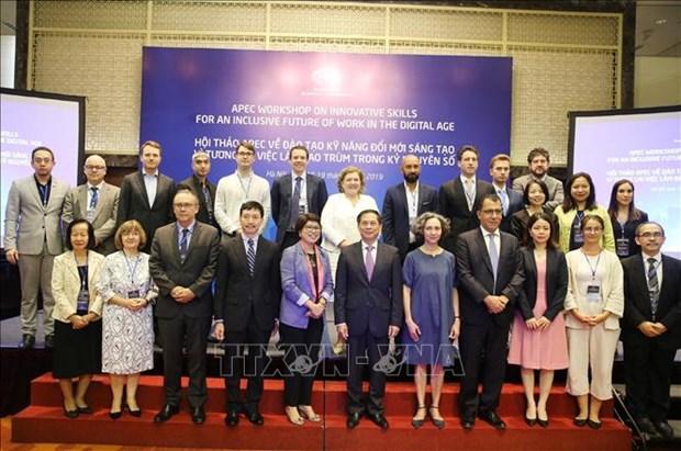 Un seminaire de l'APEC promeut les competences innovantes a l'ere numerique hinh anh 1