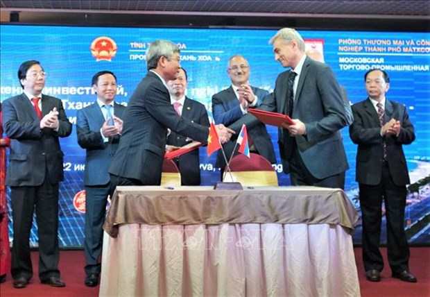 Thanh Hoa booste sa cooperation avec la Russie hinh anh 1
