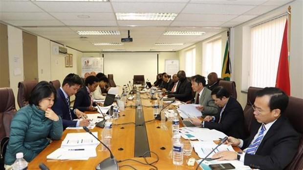 Le Vietnam et l'Afrique du Sud renforcent leur cooperation dans la securite sociale hinh anh 1